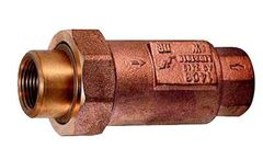 Ningbo - Model JY-284 - Bronze Dual Cheek Valve