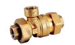 Ningbo - Model JY-286 - Brass Dual Check Valve