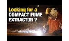 DIVERSITECH - FRED Mini-Vac II - Compact Welding Fume Extractor - Video