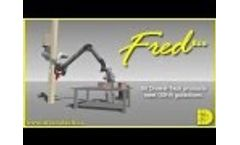 DIVERSITECH. - FRED Eco - Dust & Fume Collector Extractor - Video