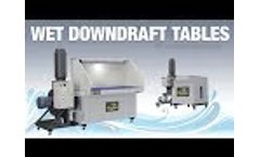 DIVERSITECH - Monsoon Wet Downdraft Table - For Combustible or Explosive Dust - FABTECH 2018 - Video