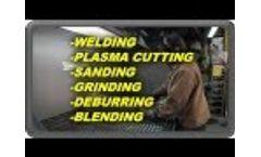 DIVERSITECH - Downdraft Table Demonstration - Welding, Grinding, Sanding, Dust & Fume Filtration - Video