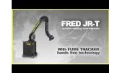 DIVERSITECH - FRED JR-T - Portable Welding Fume Extractor with FUME TRACKER - Video