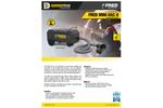 Fred MINI-VAC II Compact Fume Extractor - Brochure