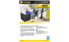 MINI DD Portable Downdraft Table - Brochure