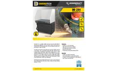DD 2X4 Portable Downdraft Table - Brochure