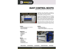 Dust Control Booth - Brochure