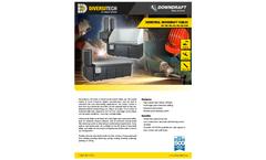 3X4, 3X6, 3X8, 4X4, 4X6, 4X8, 5X10 Industrial Downdraft Tables - Brochure