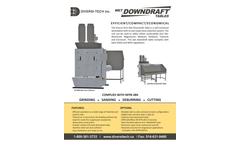 Diversitech Wet Downdraft Table - Brochure