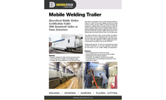 Diversitech Mobile Welding Trailer - Brochure