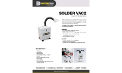 Solder Vac2 Compact Air Cleaning System - Brochure