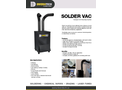 Solder Vac Compact Air Cleaning System - Brochure