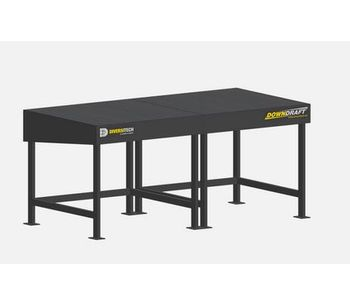 Diversitech - Model 3 x 6 - Ducted Downdraft Table