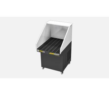 DiversiTech - Model Mini-DD - Mobile Downdraft Table