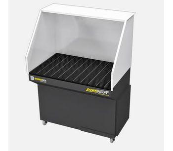 DiversiTech - Model 2' X 4' - Mobile Downdraft Table