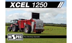Model XCEL - Rear Discharge Manure Spreaders Brochure