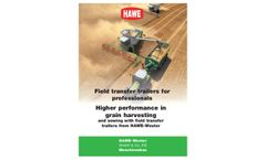 Model ULW - Field Transfer Trailers Brochure