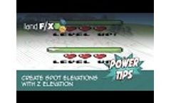 Power Tip: Create Spot Elevations with Z Elevation Video