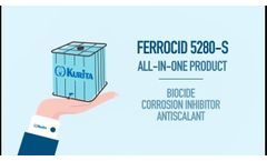Kurita´s Ferrocid 5280-S: A Comprehensive Solution for Drinking Water Treatments - Video
