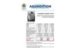 Budget Water Softeners Datasheet