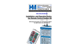 Remote Control for Logging-HM 2225