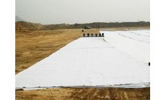 Tencate - Model Non-woven Geotextile - Geotextile for water storage pond in Malaysia