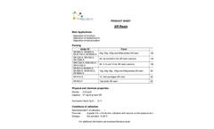 SR Resin Product Brochure
