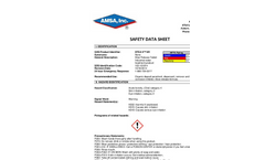 DTEA II™  SR - Safety Data Sheet