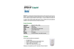 AMSA BCP™  Classic DTEA II™  - Multi-Purpose Chemical Liquid - Datasheet