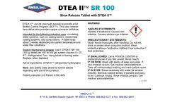 DTEA II™ SR Tablet - Slow Release Tablet with DTEA II™