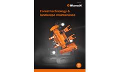 Woodcracker - Model R - Root Stock Clearing Device Brochure