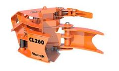 Woodcracker - Model CL - Cutting Head for Harvesting Trees and Bushes