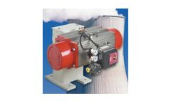 Pneumatic and Electric Floor Mounted Damper Drives