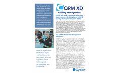 CQRM - Version XD - Quality Management Software - Brochure