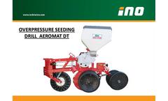 AEROMAT - Model DT - Seeding Drill Brochure