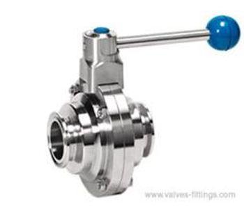 Adamant Valves - Model AV-2MS - Manual Sanitary Standard Ball Valves