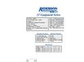 Anderson - Model 3T - Equipment Trailers - Brochure