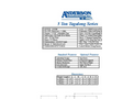 Anderson - Model 5T Series - Tagalong Trailer - Datasheet
