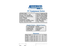 Anderson - Model 5T Equipment Series - Trailer - Datasheet