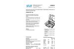 Chematest 20N - Hand-held Instrument Datasheet