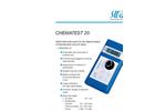 Chematest - 20N - Hand-held Instument Flyer