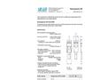 Swansensor - UP-CON1000, NPT - Conductivity Sensor Datasheet