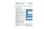 SWAN - AMI Oxysafe - Electronic Transmitter & Controller Datasheet