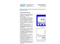 SWAN - AMU pH/Redox - Electronic Transmitter & Controller Datasheet
