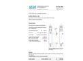 Flow Cell B-Flow SS316L L130 - Datasheet