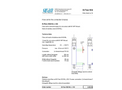 SWAN - Q-Flow SS316L L70 - Stainless Steel Flow Cell Datasheet