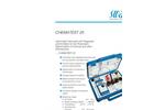 Chematest 25 - Hand-held Instrument Flyer