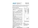 SWAN - 7027 - Monitor AMI Turbiwell for Non-Contact Nephelometric System Datasheet