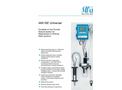 SWAN - AMI ISE Universal - Complete On-Line Fluoride Analysis System Brochure