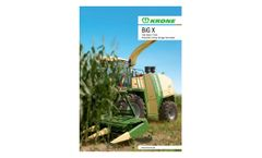 Krone - Model BIG M 420 - High Performance Mower Conditioners Brochure